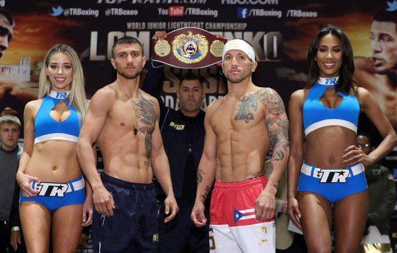 Lomachenko vs. Sosa Weigh In