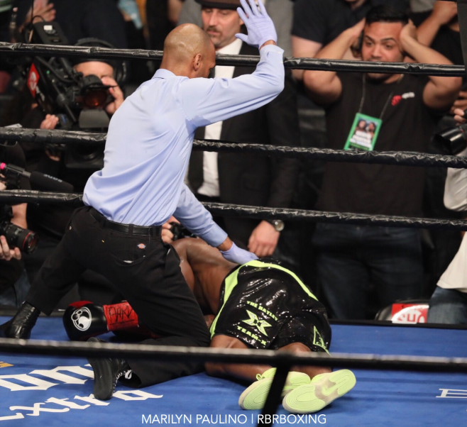 Big Right: Charlo uses series of rights to knock out Hatley