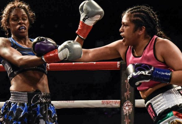 Iris Contreras vs. Shurretta Metcalf - Julio Sanchez RBRBoxing (1)