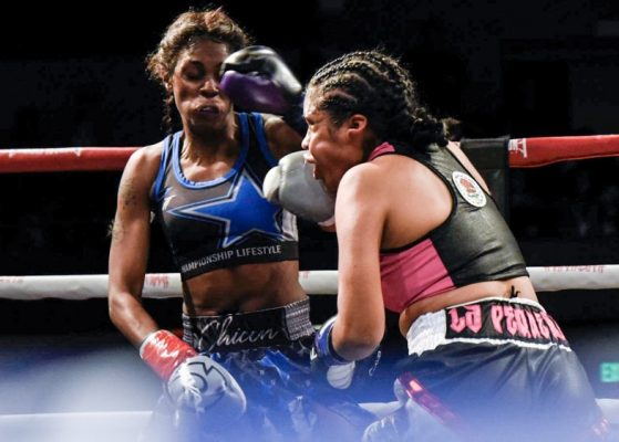 Iris Contreras vs. Shurretta Metcalf - Julio Sanchez RBRBoxing (2)