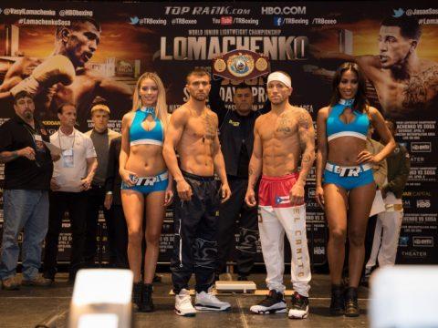 Lomachenko vs. Sosa Weigh In - ESVP LLC. 2017 (30)