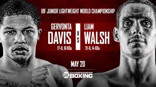 Gervonta Davis, Liam Walsh make weight ahead of title clash