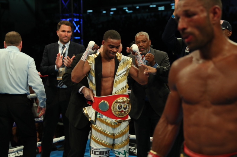 Quick Results from Bramall Lane: Errol Spence Jr. Dethrones Kell Brook