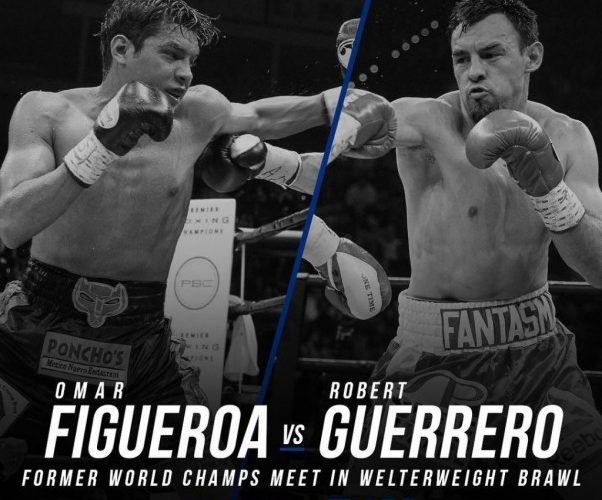 Resultado de imagen para Omar Figueroa Jr. vs Robert Guerrero