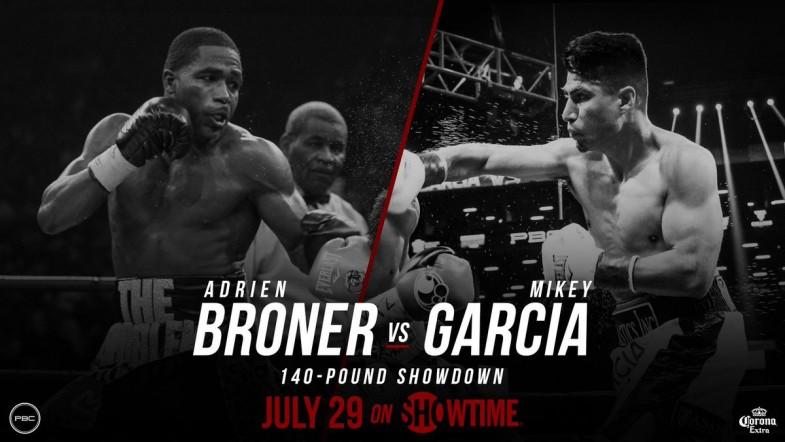 Adrien Broner vs. Mikey Garcia