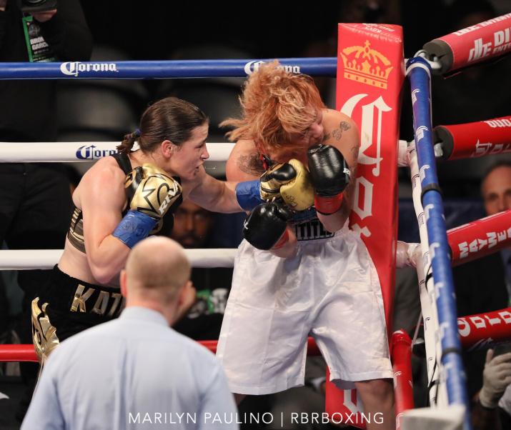 Katie Taylor easily beats Jasmine Clarkson in NY