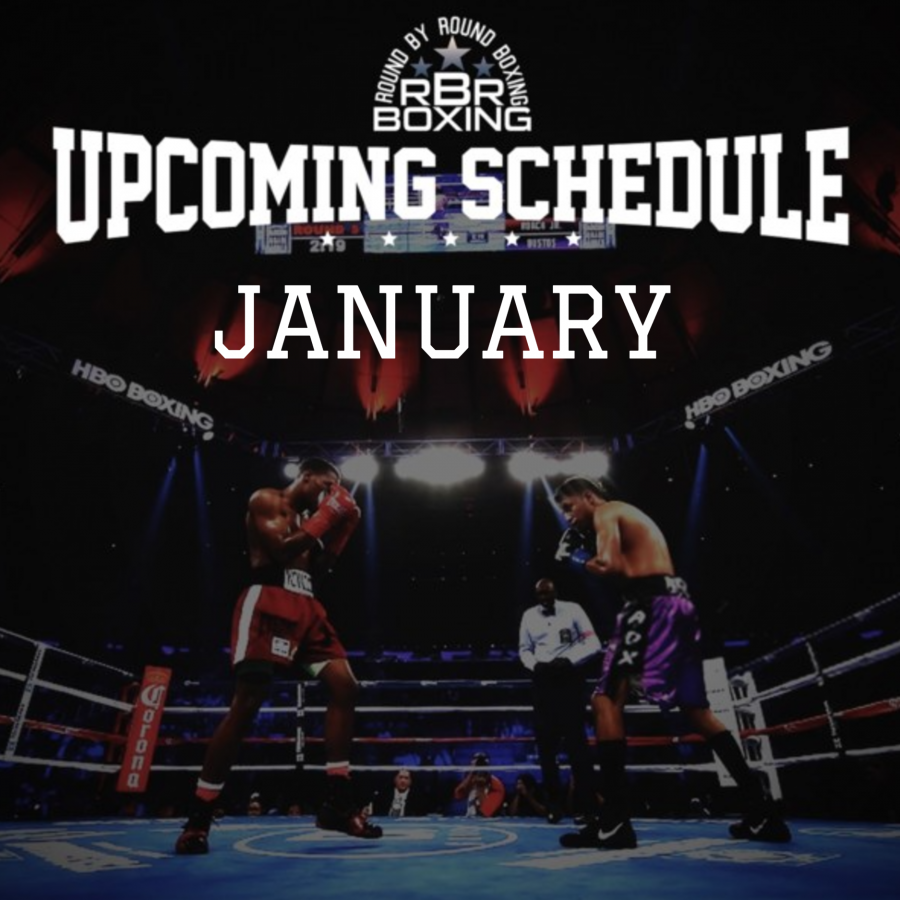 Boxing schedule