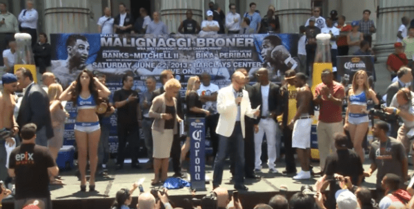 Malignaggi - Broner Weigh In