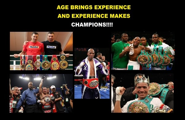 Age brings Champions