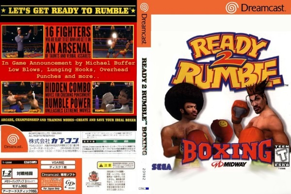 READY 2 RUMBLE BOXING – DVD