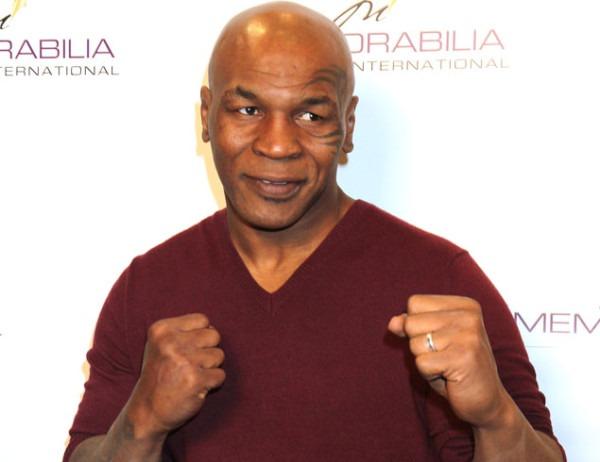 Mike Tyson memorabilia international  050211