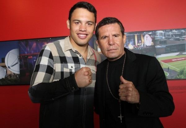 Julio Cesar Chavez Jr. Visits ESPN - RBRBoxing