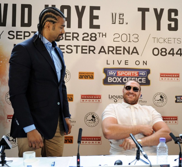 Via Ring TV: David Haye Blasts Fury