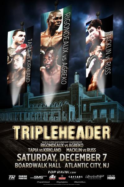 Rigondeaux-Agbeko Fight Poster