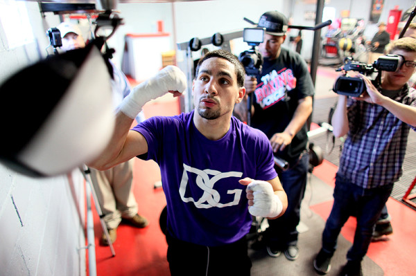Danny Garcia Boxing Workout
