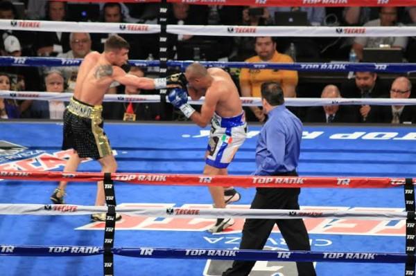 Chavez-Vera Fight Night - Jr. Barron2