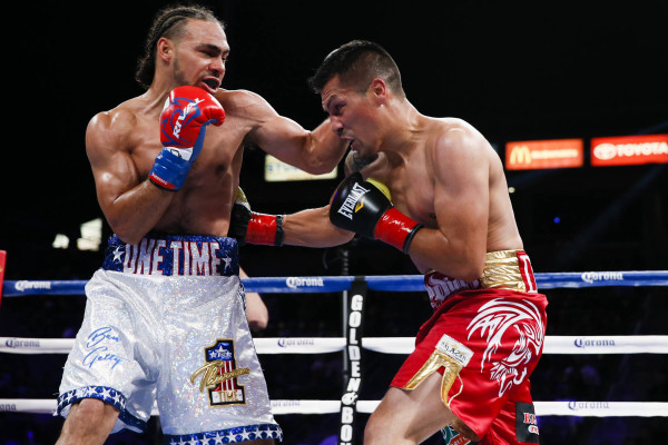 Keith Thurman vs Julio Diaz Esther Lin