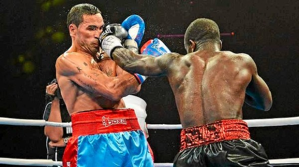 Clottey Scores Five Knockdowns and Decision Victory Over ...