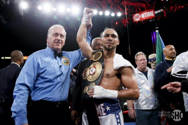 Keith Thurman - Esther Lin