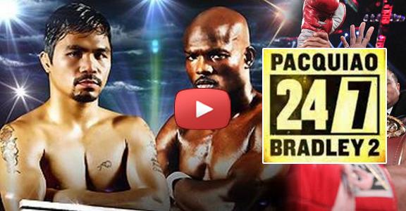 Pacquiao Bradley Rematch Episode