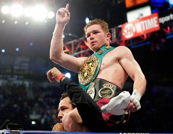 Canelo Alvarez - AP Photo Eric Gray