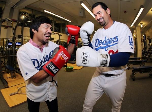 Manny Pacquiao Dodgers - Chris Farina