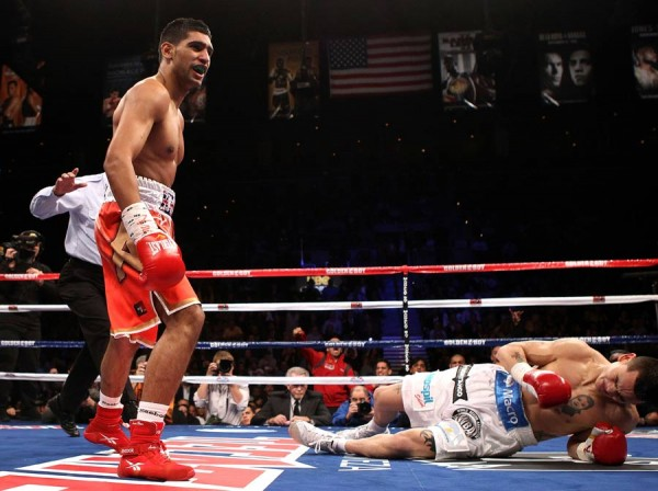 Amir Khan - Marcos Maidana Getty Images