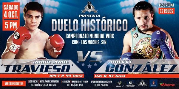 Jhonny Gonzalez vs. Jorge Arce
