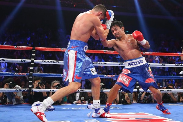 Manny Pacquiao Chris Algieri - Chris Hyde Getty Images