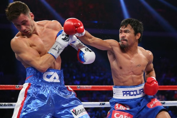 Manny Pacquiao Chris Algieri - Chris Hyde Getty Images2