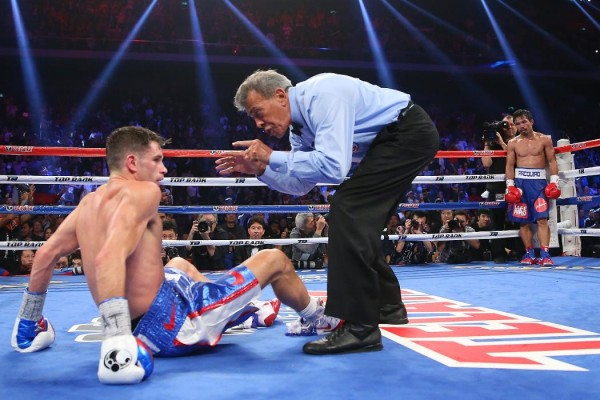 Manny Pacquiao Chris Algieri - Chris Hyde Getty Images5