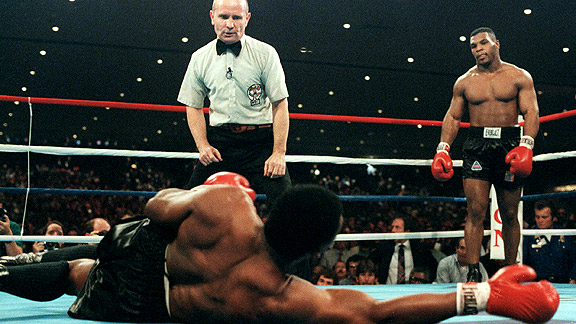 Mike Tyson vs. Trevor Berbick - AFP Getty Images