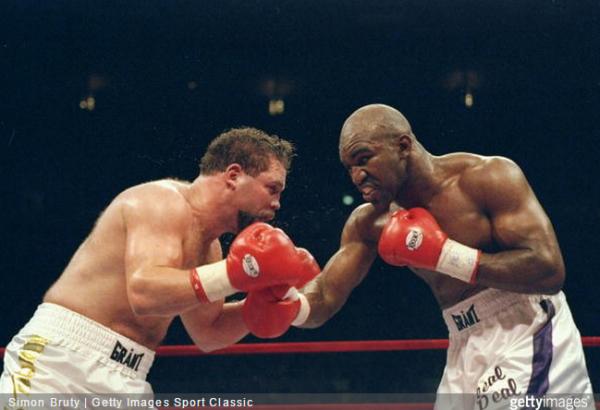 Evander Holyfield vs. Bobby Czyz - Simon Bruty Getty Images