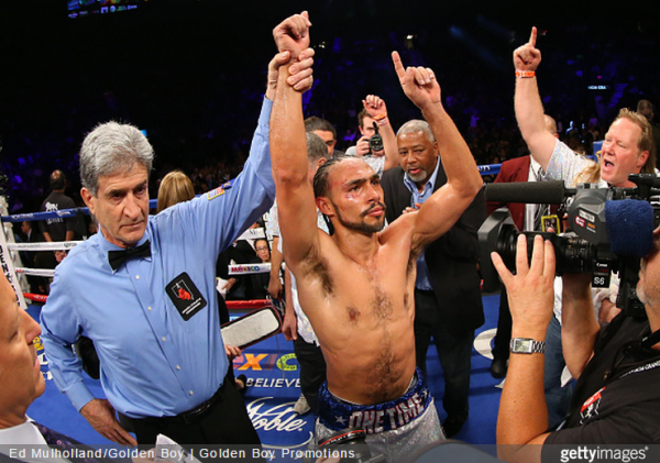 Keith Thurman vs. Leonard Bundo - Ed Mulholland Golden Boy Promotions Getty Images
