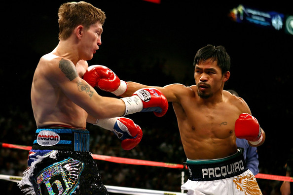 Manny Pacquiao Ricky Hatton Al Bello Getty Images