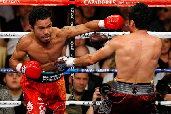 Pacquiao De La Hoya - Ethan Miller Getty Images