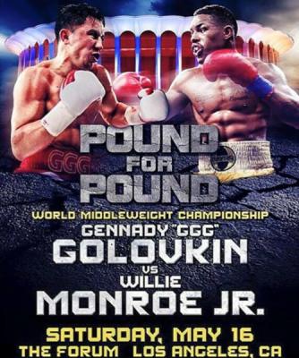 Gennady Golovkin Willie Monroe Poster