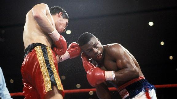 Julio Cesar Chavez Meldrick Taylor - Ring Magazine Getty Images