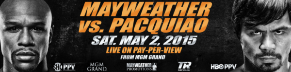 Mayweather Pacquaio Official Banner