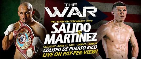 Orlando Salido vs. rocky martinez banner