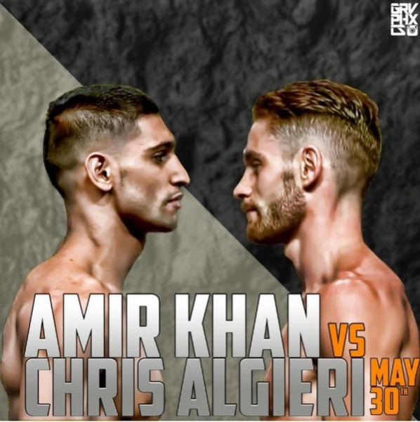 Amir Khan Chris Algieri Edit by Grvphxcs