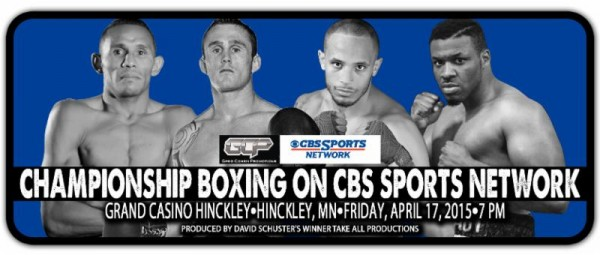 CBS Sports Network Boxing Logo