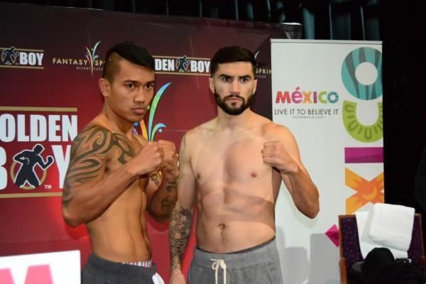 Gesta vs. Molina Weigh In - Ismael Gallardo RBRBoxing (14)