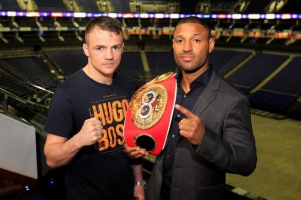Kell Brook Frankie Gavin - Lawrence Lustig Matchroom boxing