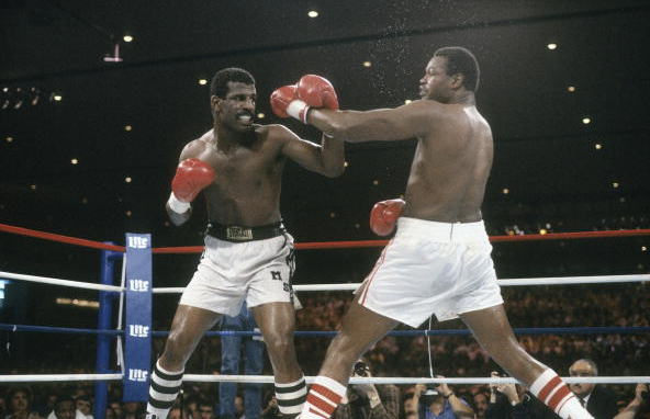 Larry Holmes Michael Spinks - Focus on Sport Getty Images