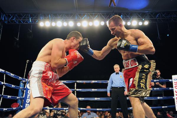 Petr Petrov -- Carlos Baeza Thompson Boxing