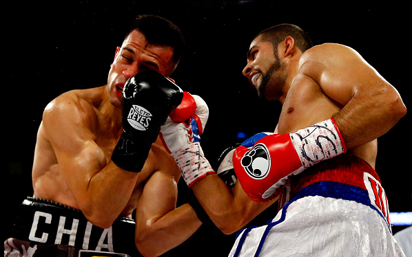 Sadam Ali vs. Francisco Santana Al Bello Bongarts Getty Images