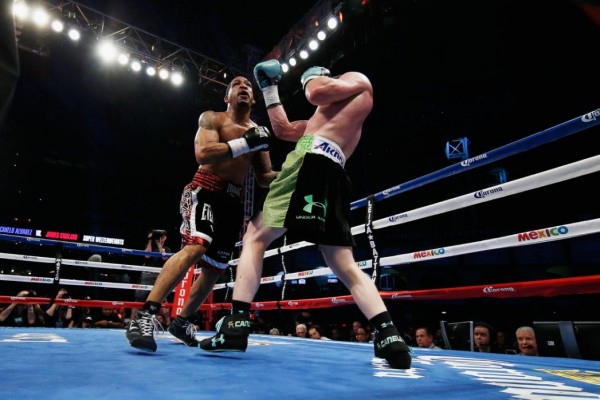 Canelo Alvarez James Kirkland - Scott Halleran Getty Images 3