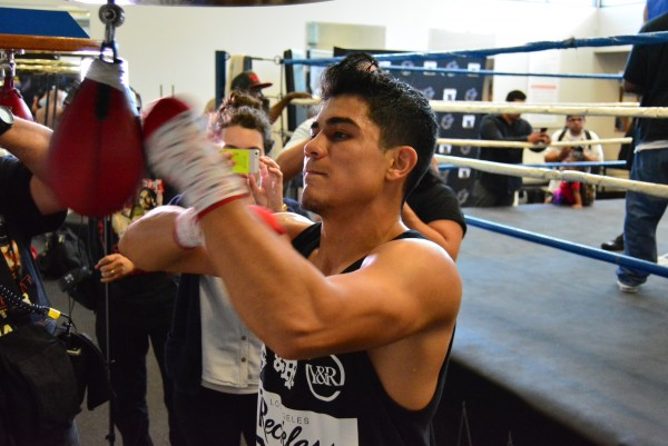 Frankie Gomez Jo Jo Diaz - Golden Boy Workout - Ismael Gallardo RBRBoxing (8)