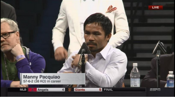 Mayweather Pacquiao post fight presser espn